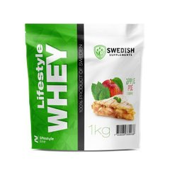 Протеїн Lifestyle Whey_1kg Lemon Cheesecake