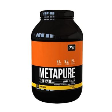 Протеїн Metapure ZC Isolate 1 кг Банан