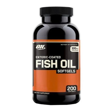 Enteric-Coated Fish Oil - 200 softgels