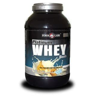 Протеїн Platinum Whey Basic 2500g Банан