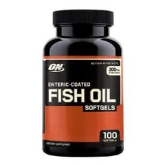 Enteric-Coated Fish Oil - 100 softgels