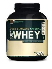 Протеин Naturally Gold Standard 100% Whey 2,18 кг Ваниль